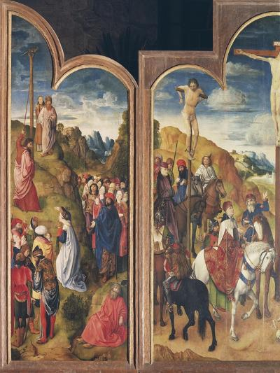 Belgium, Ghent, St Bavo Church, Crucifixion and Serpent of Bronze--Giclee Print