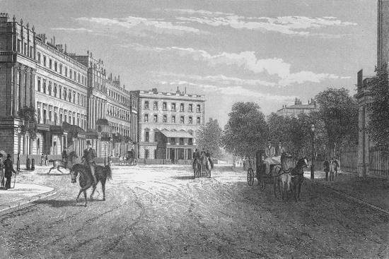Belgrave Square, Westminster, London, c1850 (1878)-Unknown-Giclee Print