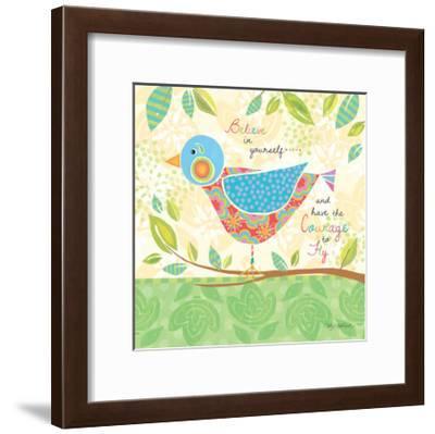 Believe Bird-Kathy Middlebrook-Framed Art Print