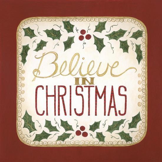 Believe in Christmas-Cindy Shamp-Art Print