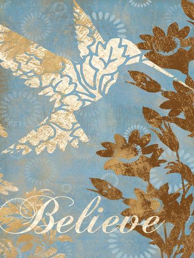 Believe Silhouette-Piper Ballantyne-Art Print