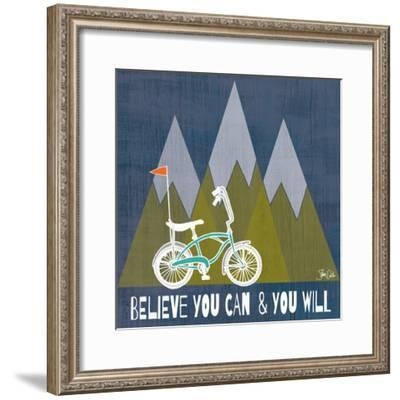Believe You Can-Shanni Welch-Framed Art Print