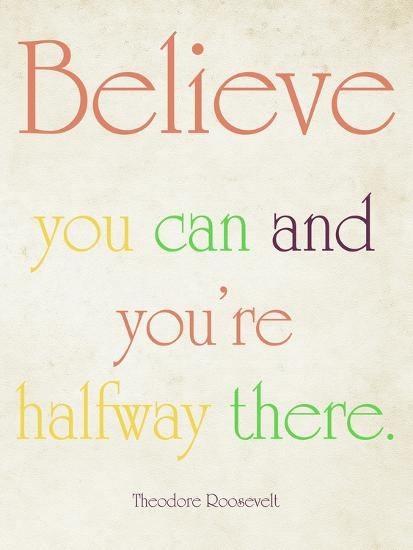 Believe You Can-Sylvia Coomes-Art Print