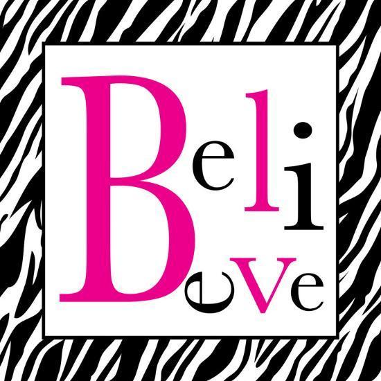 Believe-Louise Carey-Art Print