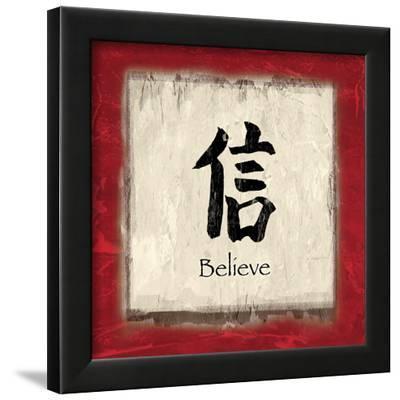 Believe-Echofish-Framed Art Print