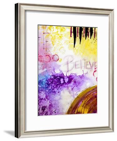 Believe-Destiny Womack-Framed Art Print