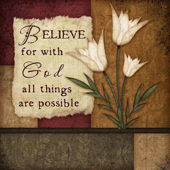 Believe-Jennifer Pugh-Premium Giclee Print