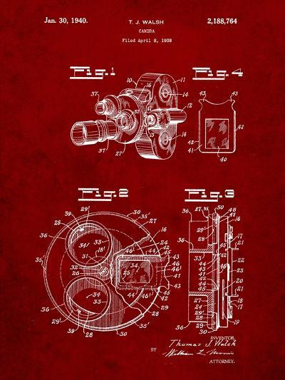 Bell and Howell Color Filter Camera Patent-Cole Borders-Art Print