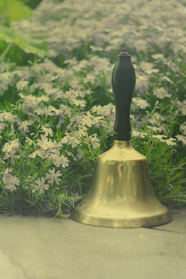 Bell in a Garden-Elizabeth Urqhurt-Photographic Print