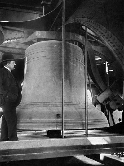 Bell in the Tower of Big Ben, Palace of Westminster, London, C1905--Giclee Print
