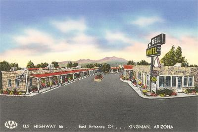 Bell Motel, Kingman Arizona--Art Print