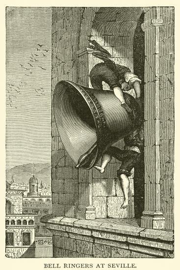 Bell Ringers at Seville--Giclee Print