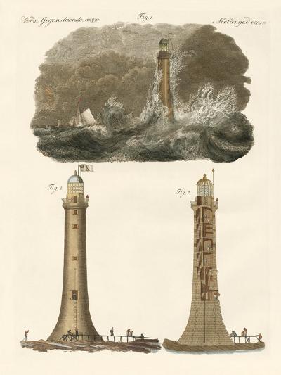 Bell Rock Lighthouse--Giclee Print