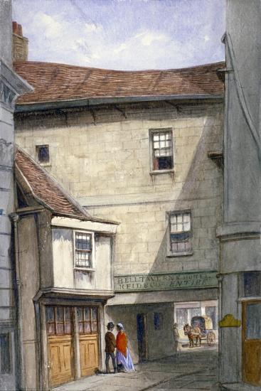Bell Tavern, Addle Hill, London, 1868-JT Wilson-Giclee Print