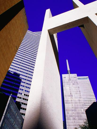 Bell Tower Ar Thanksgiving Square, Dallas, Texas-Richard Cummins-Photographic Print