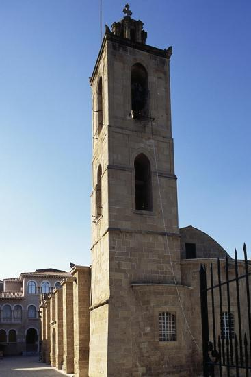 Bell Tower, Cathedral of Agios Ioannis--Giclee Print