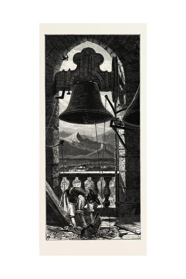 Bell Tower, Murcia, Ganada, Spain, 19th Century--Giclee Print