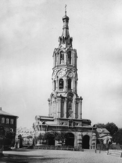 Bell Tower of the Church of St Elias the Prophet, Moscow, Russia, 1881- Scherer Nabholz & Co-Photographic Print