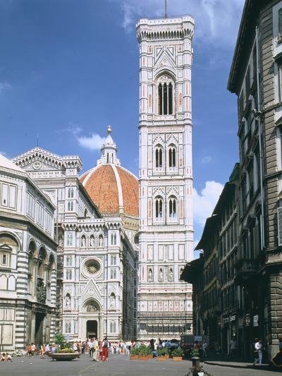 Bell Tower of the Duomo, Florence, Italy-Peter Thompson-Photographic Print