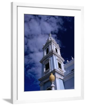 Bell Towers of Catedral Nuestra Senora De Guadelupe, Ponce, Puerto Rico-Alfredo Maiquez-Framed Photographic Print