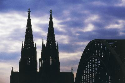 Bell Towers of Cologne Cathedral (Unesco World Heritage List--Giclee Print