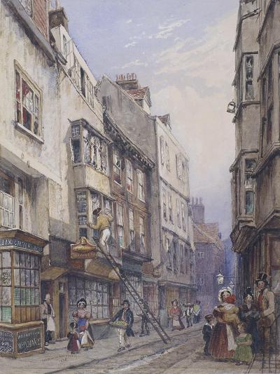 Bell Yard Near Chancery Lane, London, 1835-George Sidney Shepherd-Giclee Print