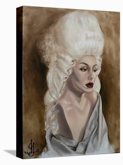 Bella Brown-Jesso-Stretched Canvas Print