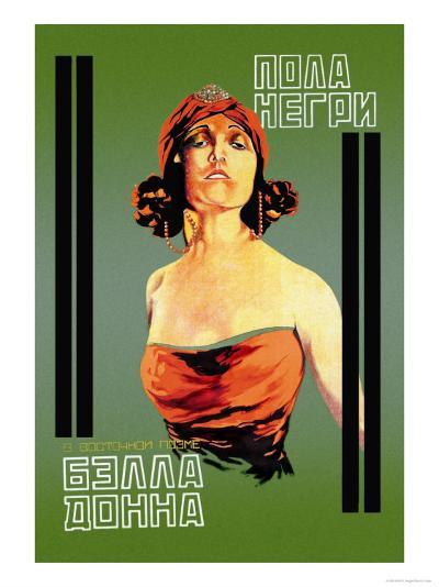 Bella Donna I-Khail O. Dlugach-Art Print