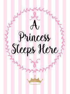 A Princess Sleeps Here by Bella Dos Santos