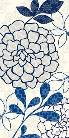 Floralesque Panel 1 by Bella Dos Santos