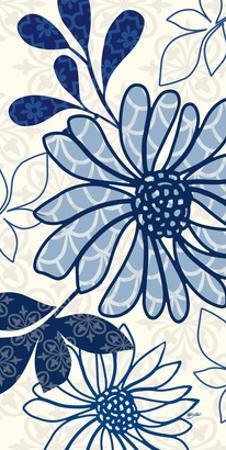 Floralesque Panel 2 by Bella Dos Santos