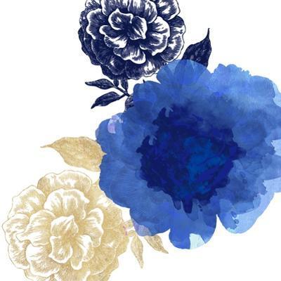Happy Garden Blue by Bella Dos Santos