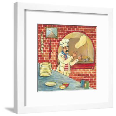 Bella Pizza I-L. Morales-Framed Art Print