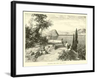 Bellaggio, Seen from Villa Giulia--Framed Giclee Print