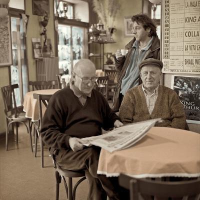 Bellagio Caffe #1-Alan Blaustein-Photographic Print