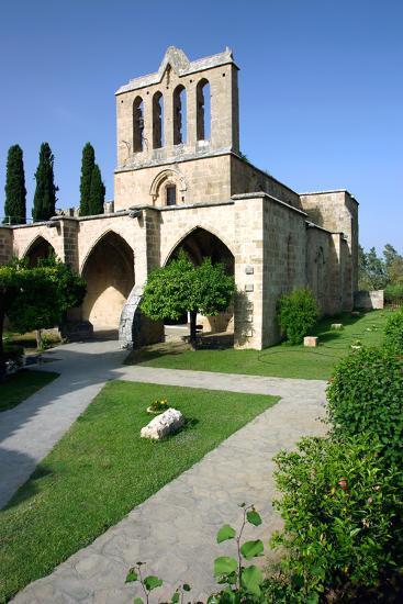 Bellapais Abbey, North Cyprus-Peter Thompson-Photographic Print