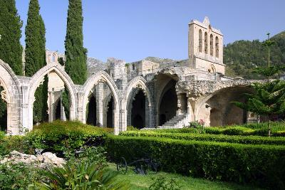 Bellapais Abbey, North Cyprus-Peter Thompson-Photographic Print
