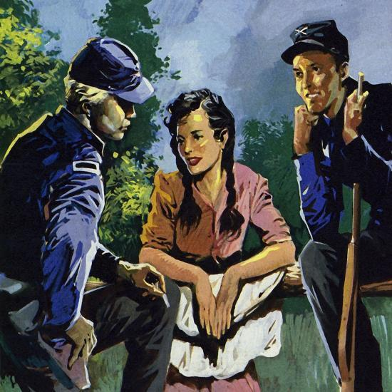 Belle Boyd Was a Spy During the American Civil War--Giclee Print