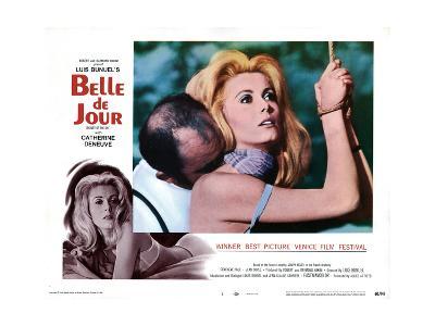 Belle de Jour, Michel Piccoli, Catherine Deneuve, 1967--Giclee Print