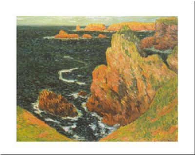Belle Ile-Claude Monet-Art Print