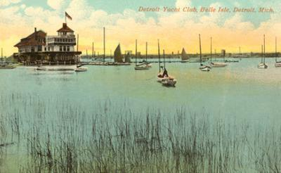 Belle Isle Yacht Club, Detroit, Michigan