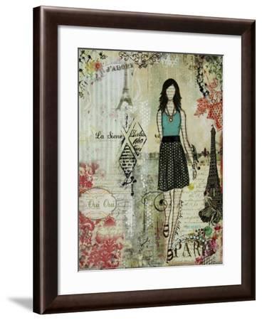 Belle Ville Belle Dame-Janelle Nichol-Framed Giclee Print