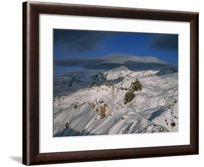 Bellecote Glacier, La Plagne, Savoy, France-Richard Nebesky-Framed Photographic Print