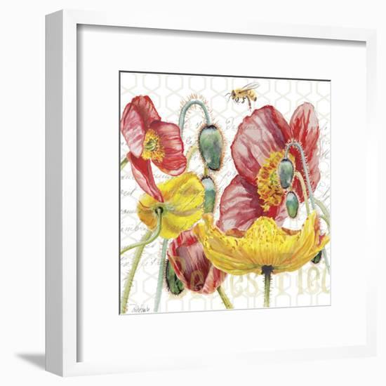 Belles Fleurs II-Redstreake-Framed Art Print