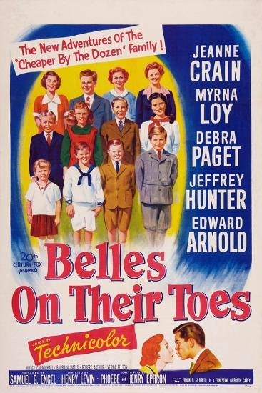 Belles on Their Toes, US, 1952--Art Print