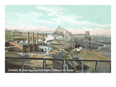Bellevue Coal Breaker, Scranton, Pennsylvania--Art Print
