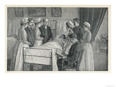 Bellevue Hospital New York a Critical Case--Giclee Print