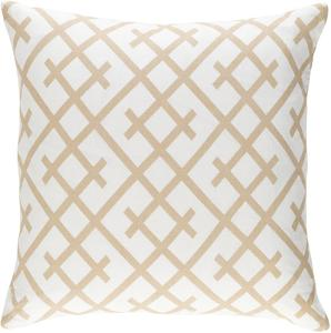 Bellini 18 x 18 Pillow Cover - Beige