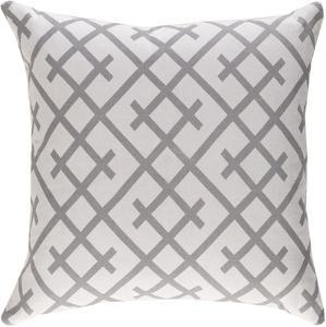 Bellini 18 x 18 Pillow Cover - Gray