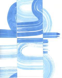 Blue Swish V by Bellissimo Art 0